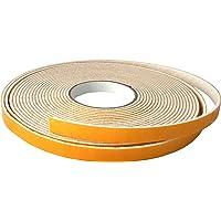 GleitGut Viltband zelfklevend - lengte: 10 m op rol - vilttape per meter - breedte: 15 mm - viltdikte: 3 mm - wit