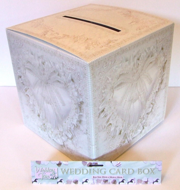 Wedding Card Box 30cmx 30cm x30cm Partyrama X38-706-HNB 56577870362