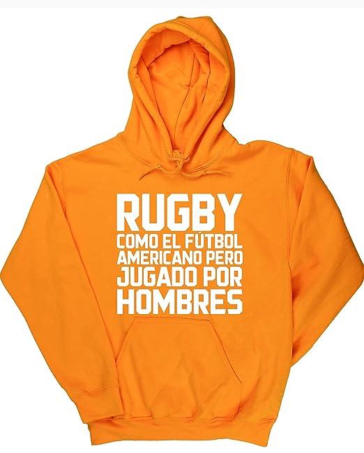 HippoWarehouse Rugby como el Fútbol Americano pero jugado por hombres jersey sudadera con capucha suéter derportiva unisex: Amazon.es: Ropa y accesorios