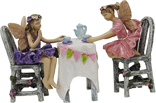 Miniature Fairy Garden Afternoon Tea Set of 5