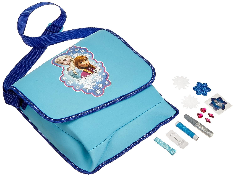 Creativsets Basteln & Kreativität Bastel Set Frozen Tasche Umhängetasche Anna Elsa Malen Kreativität Mädchen Spass