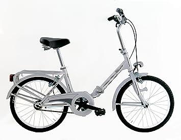 "Frejus MICROBIKE GRAZIELLA 20"" - Bicicleta de Plegable para Unisex, 1 velocidades, Cuadro"