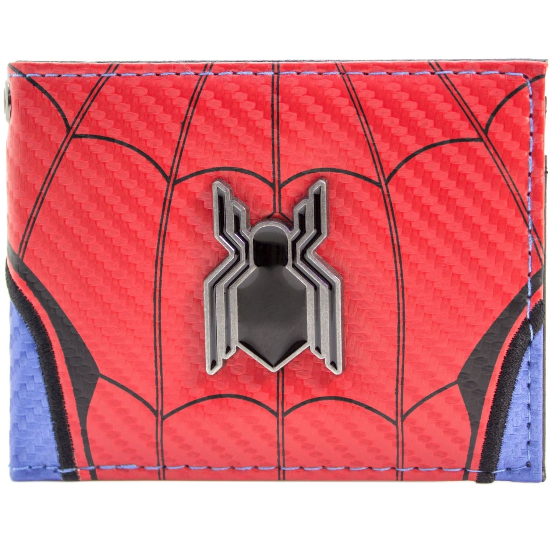 Cartera de Marvel Spider-Man Logotipo de regreso a casa rojo 29807