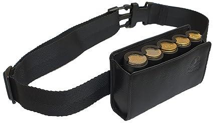 CLAIRE-FONCET Monedero de cintura junto con el dispensador de moneda de 5 piezas de Euros, Estuche-Monedero-distribuidor-cintura, Estuche y Riñonera ...