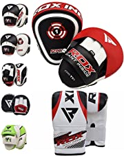 RDX Boxing Pads Focus Punch Mitts MMA Training Punching Hook & Jab Strike Pads Target With Bag Gloves