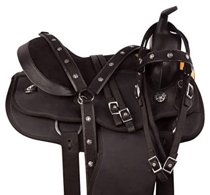 AceRugs Arabian 14 15 16 17 18 Comfy Western Pleasure Trail Horse Saddle TACK Set (