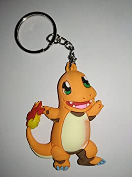 Llavero de Goma Pokémon Doble Cara (Charmander): Amazon.es ...