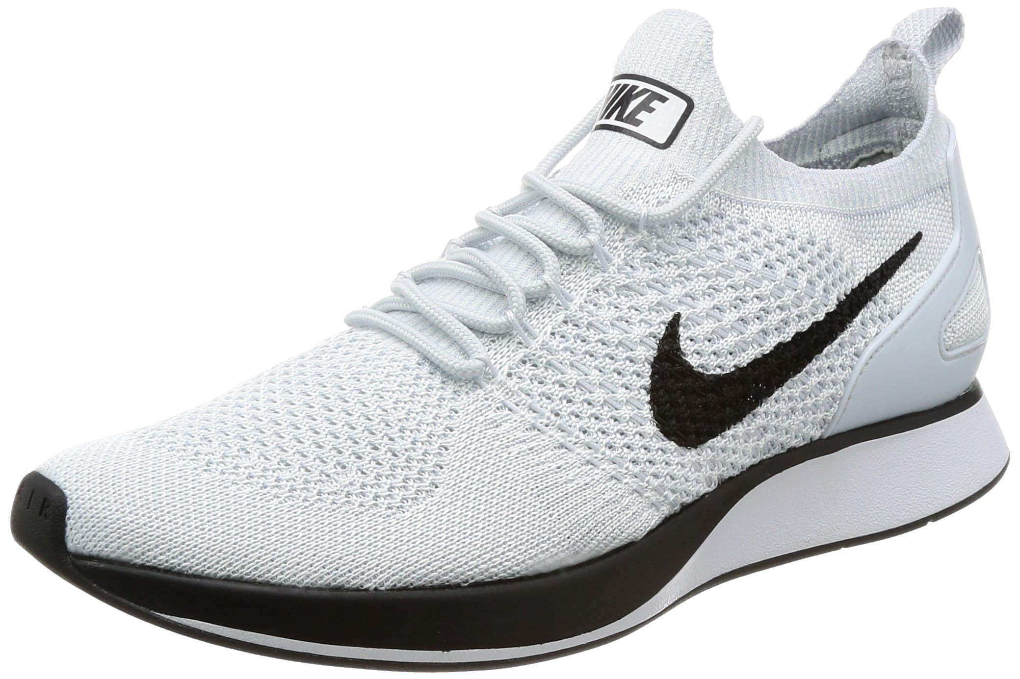 bfcc476caccf Galleon - Nike Men Air Zoom Mariah Flyknit Racer Pure Platinum White Size  10.5 US