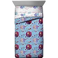 Jay Franco Disney Frozen 2 Sister Dots Twin Comforter, Blue