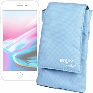 DURAGADGET Blue Stylish Water Resistant And Cushioned Protective Case For Apple iPhone 8, 5 C 5C Smartphone, Apple iPhone 5 S 5S, Apple iPhone 5S, iPhone 5, iPhone 5C, iPhone 4S, 4, 3 GS & iPhone SE