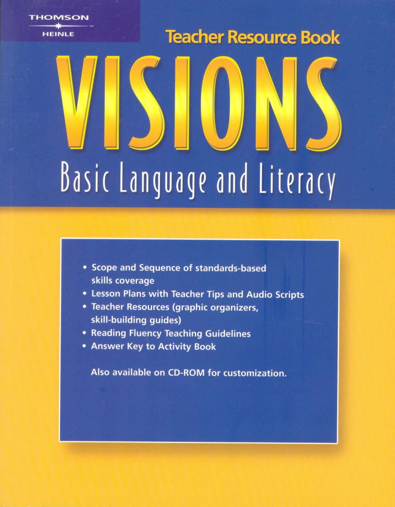 Read Online Visions Basic : Teacher Resource Book pdf