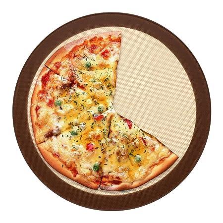 Bluedrop redondo antiadherente pizza para hornear horno LINERS ...