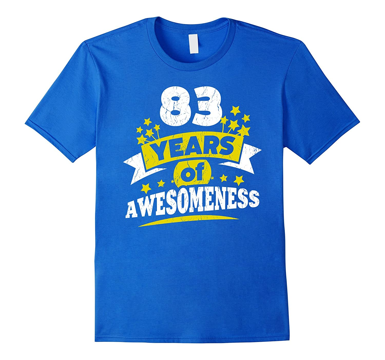 Birthday Gift For 83 Year Old Woman 83rd Tee Shirt PL