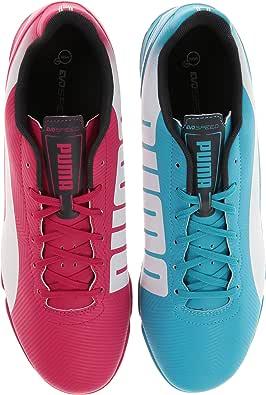 Alianza prototipo Perla  Amazon.com   PUMA Men's Evospeed 4.2 Tricks Indoor Soccer Shoe, Beetroot  Purple/Bluebird/White, 11.5 M US   Soccer
