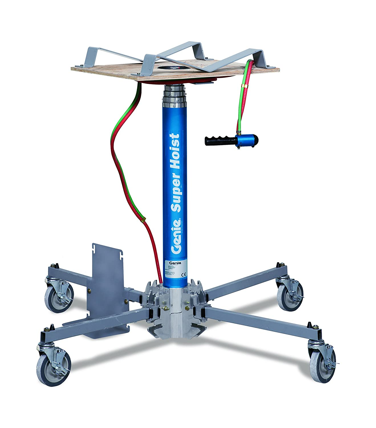 CO2 Tank Sold Separately Lift Height 12 GH-3.8 Portable Lift Genie Hoist 300 lbs Load Capacity