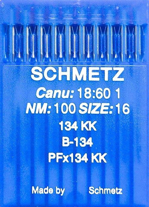 Schmetz Nähmaschinennadeln System 134R Stärke 110