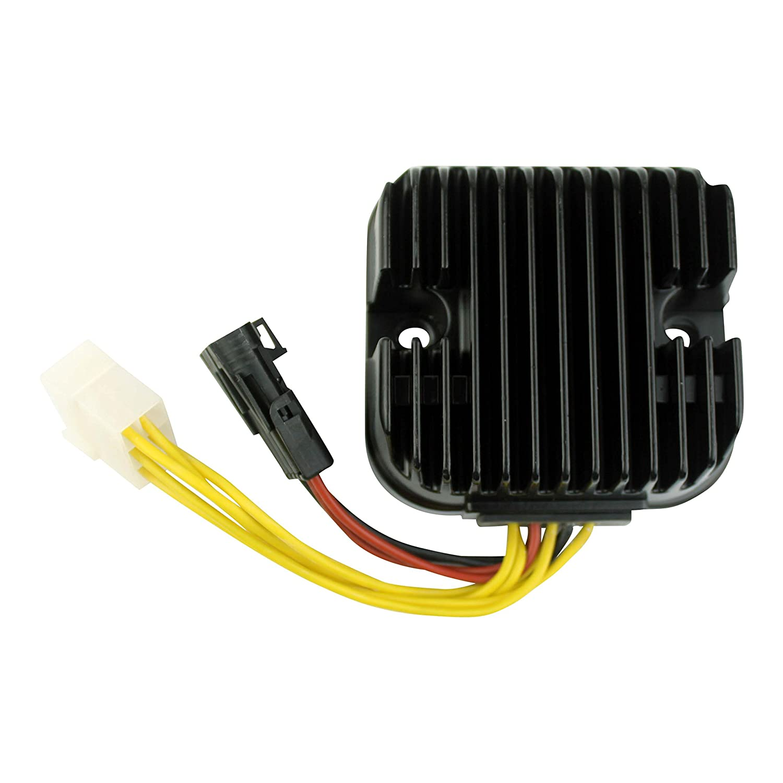 Mosfet Voltage Regulator Rectifier for Polaris Snowmobile Frontier Classic ATV Sportsman 700/800 2002-2006 OEM Repl.# 4011100 4010538 RMSTATOR