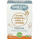 Smileat, Cereales para bebé (Arroz integral, maíz y quinoa) - 230 gr