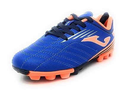 aada75e2f524 Amazon.com: Joma Boots Girl Soccer Toledo JR 24 Studs 904 Royal ...