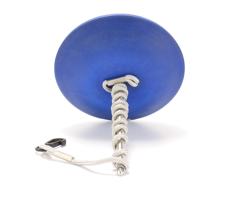 Edelstahl-Schwimmbadthermometer blau
