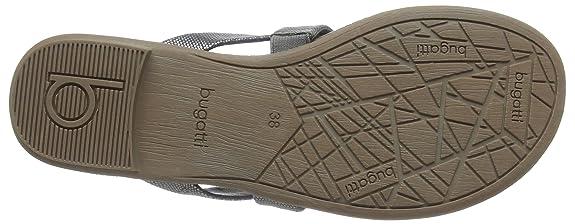 bugatti W59846N, tongs femme Argent Silber (altsilber 801), 37: : Chaussures et Sacs