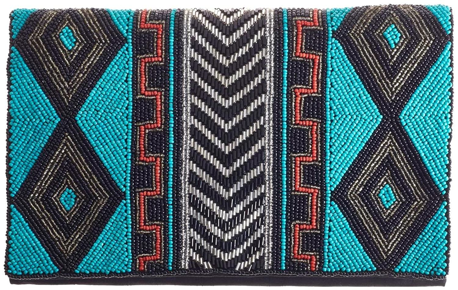 From St Xavier Akua Clutch, Aqua