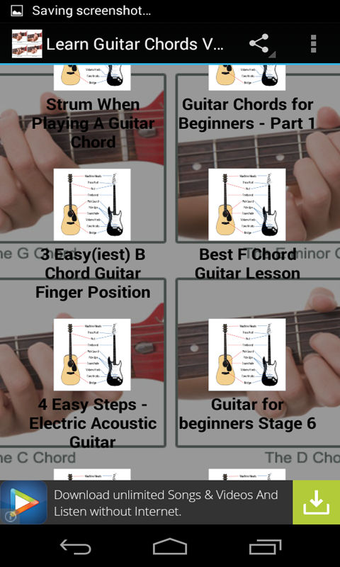 Amazon.com: Learn Guitar Chords Videos: Appstore for Android