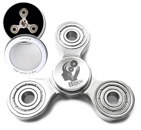 Fidget Spinner Stainless Steel From Bzen A Prime Toy Made With Luxury To Help Your