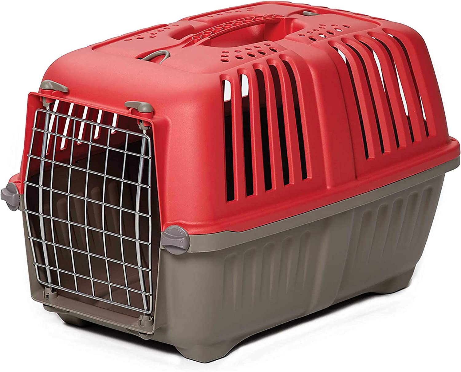 """MidWest Homes for Pets Spree Travel Pet Carrier, Dog Carrier Features Easy Assembly and Not the Tedious """"Nut & Bolt"""" Assembly of Competitors"""