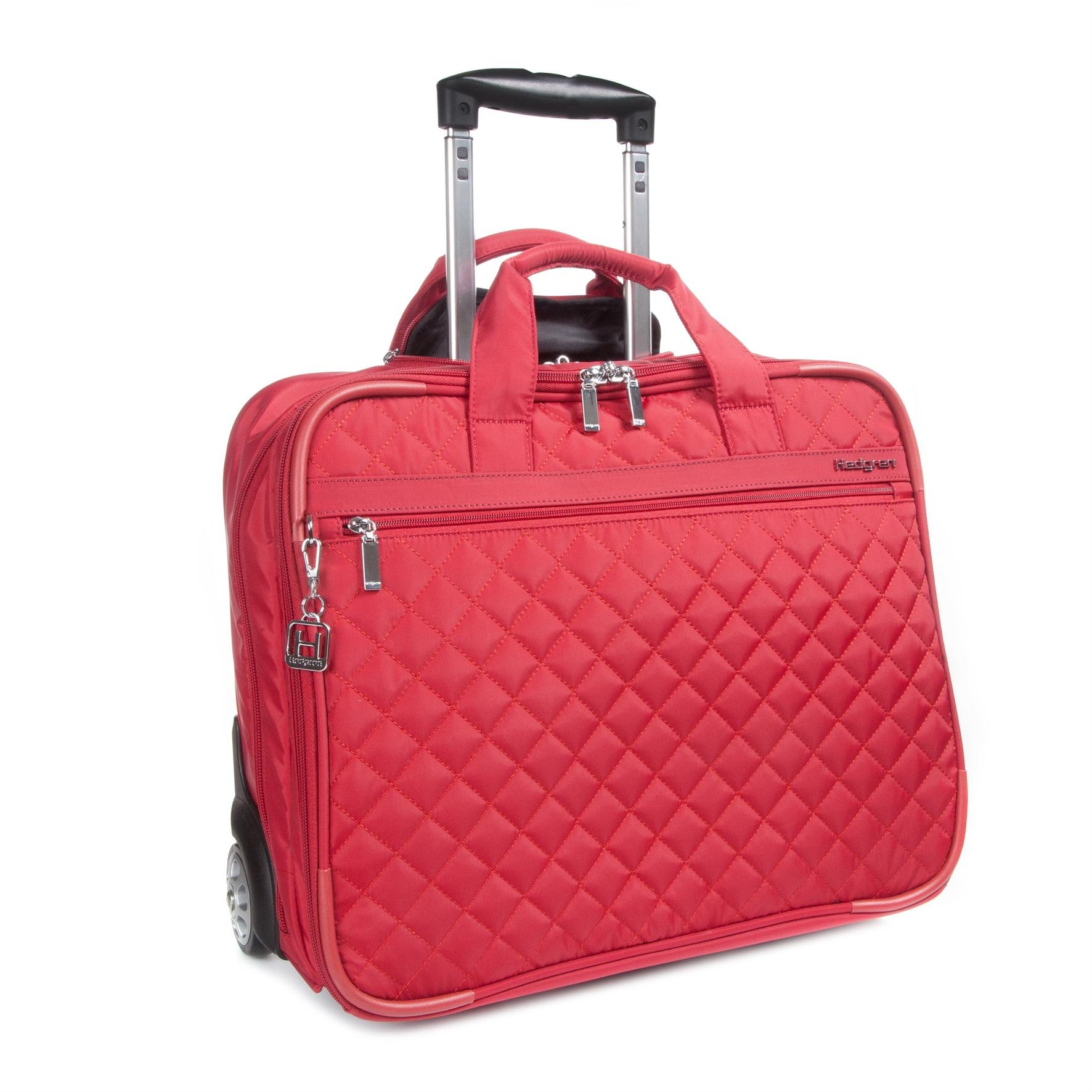 Hedgren Women's Cindy Business Trolley 15.6 Briefcase, New Bull Red, One Size