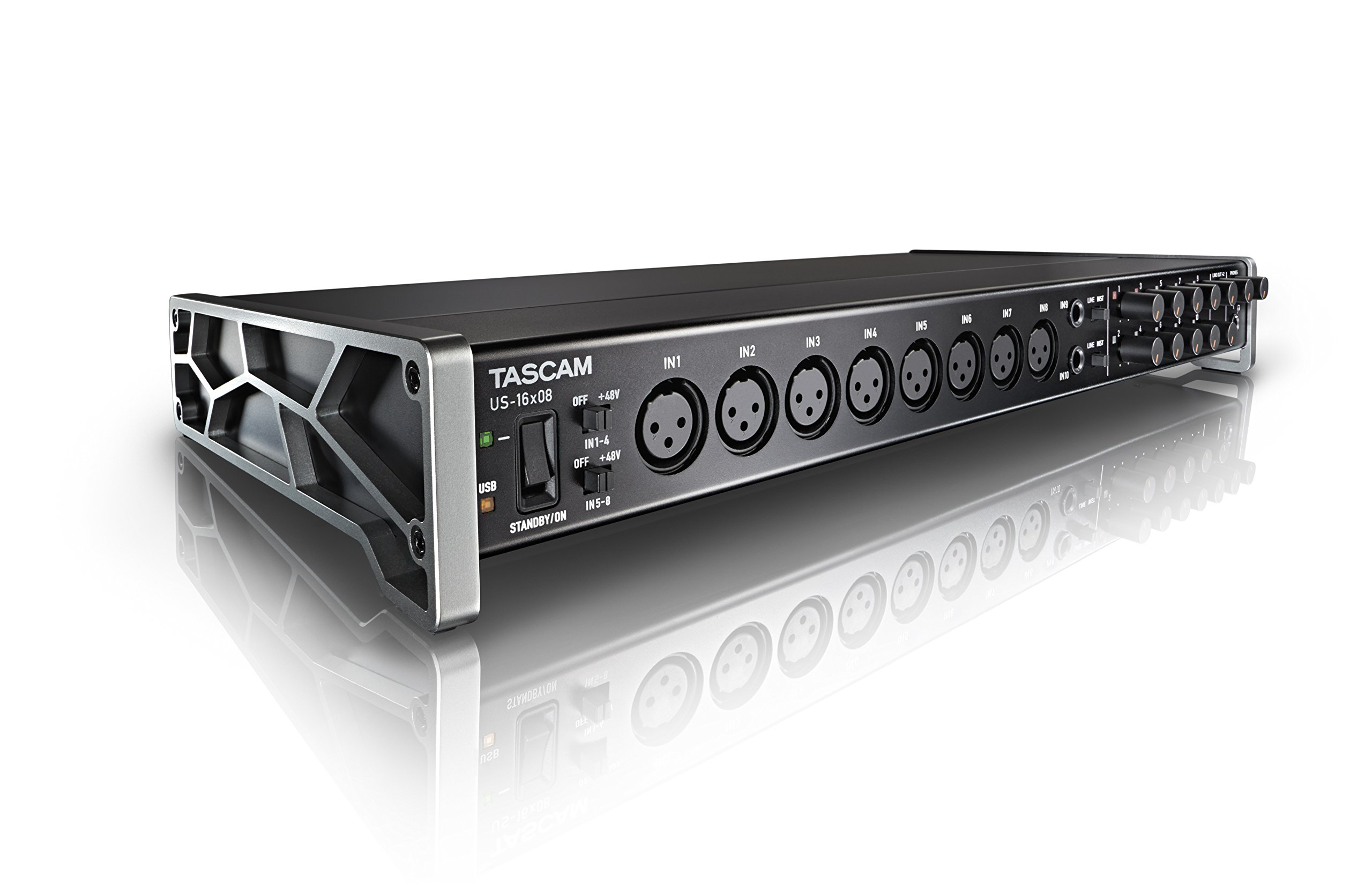 Tascam US-16X08 16x8 channel USB Audio Interface