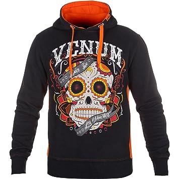 Venum Herren Sweatshirt Santa Muerte 2.0, Schwarz, S, EU-2114