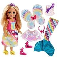 Barbie Dreamtopia Chelsea ve Kıyafetleri Oyun Seti (FJD00)