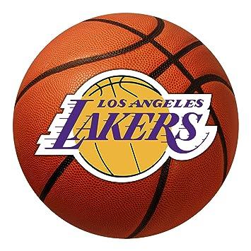 Amazon.com: Fanmats NBA 27 en. Baloncesto Mat, Los Angeles ...