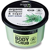Organic Shop Body Scrub Natural Provence citroengras en sugar 250 ml