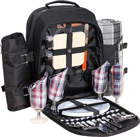 Details about  /Cesta de Picnic Bolsa Plegable de Alimentos Picnic Bags Food Storage for Camping