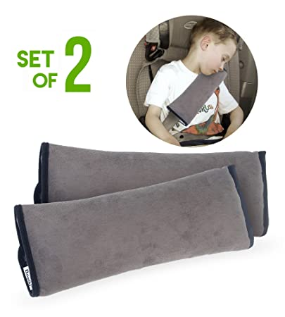 Set Of 2 Seatbelt Cover Pillows