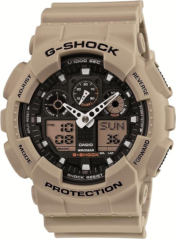 [カシオ] 腕時計 ジーショック Desert Beige Series デザートベージュシリーズ GA-100SD-8AJF ベージュ