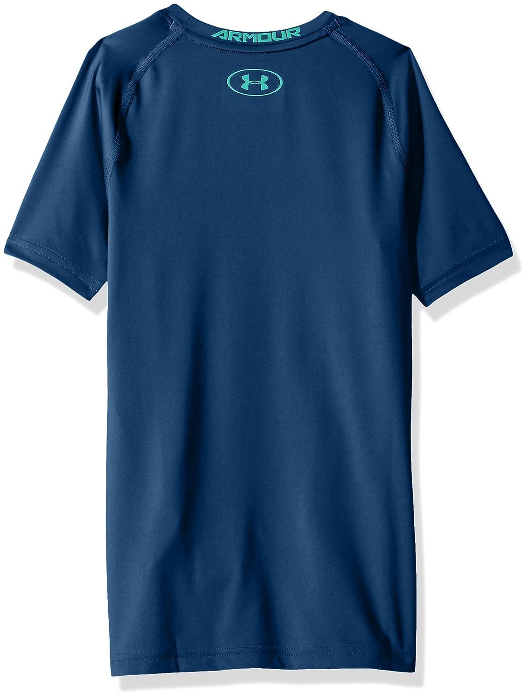 Under Armour Boys HeatGear Armour Block Short Sleeve Shirt Under Armour Apparel 1291614
