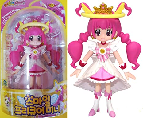 Princess Happy Glitter force smile precure Princess Happy figure doll Bandai Korea new