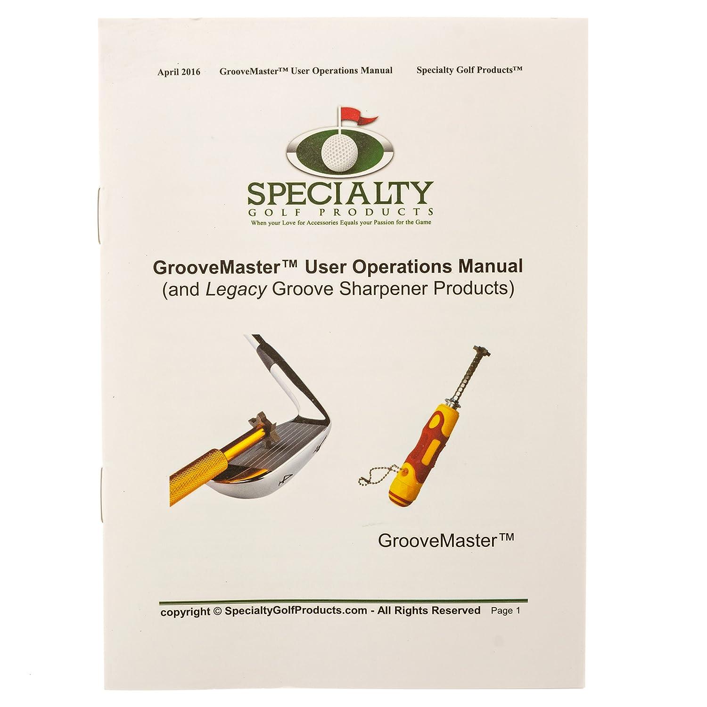 Amazon.com: Groovemaster Golf Club Groove Sharpener ...