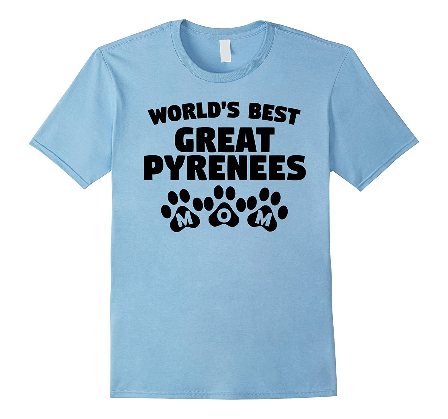 World's Best Great Pyrenees Mom T-Shirt-BN