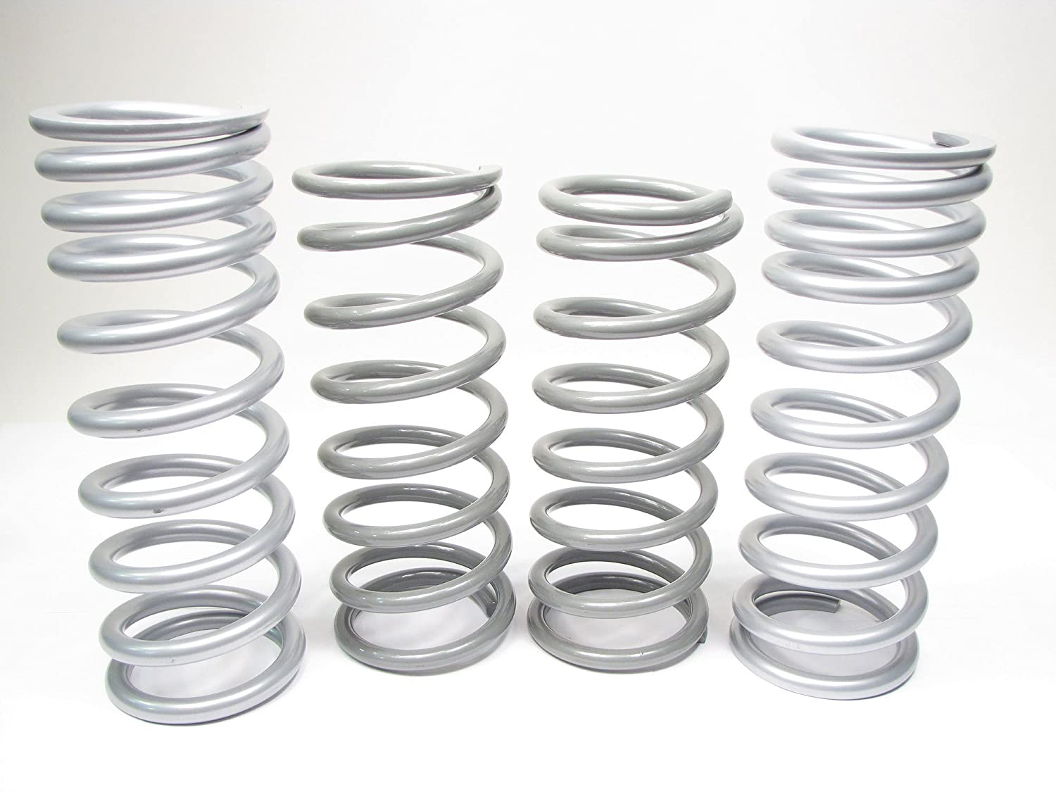 Terrafirma TF042 TF023V Medium Duty Front and Rear Coil Spring Kit for Land Rover Discovery 2