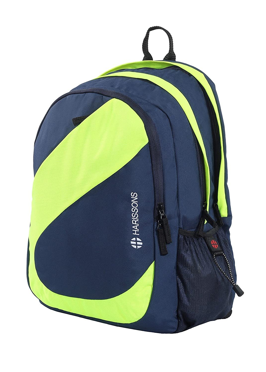 Harissons Bags Easter 38L Big Stylish Backpack (Navy Blue   Green ... 6d9a7f63aced4