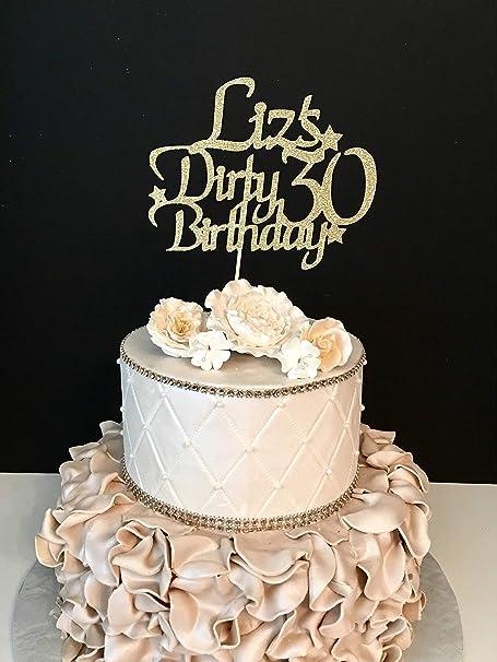 Monsety Decoración para Tarta de 30 cumpleaños, diseño con ...