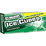Ice Breakers Ice Cubes Sugar Free Gum, Spearmint, 10-Piece Boxes (Pack of 16)