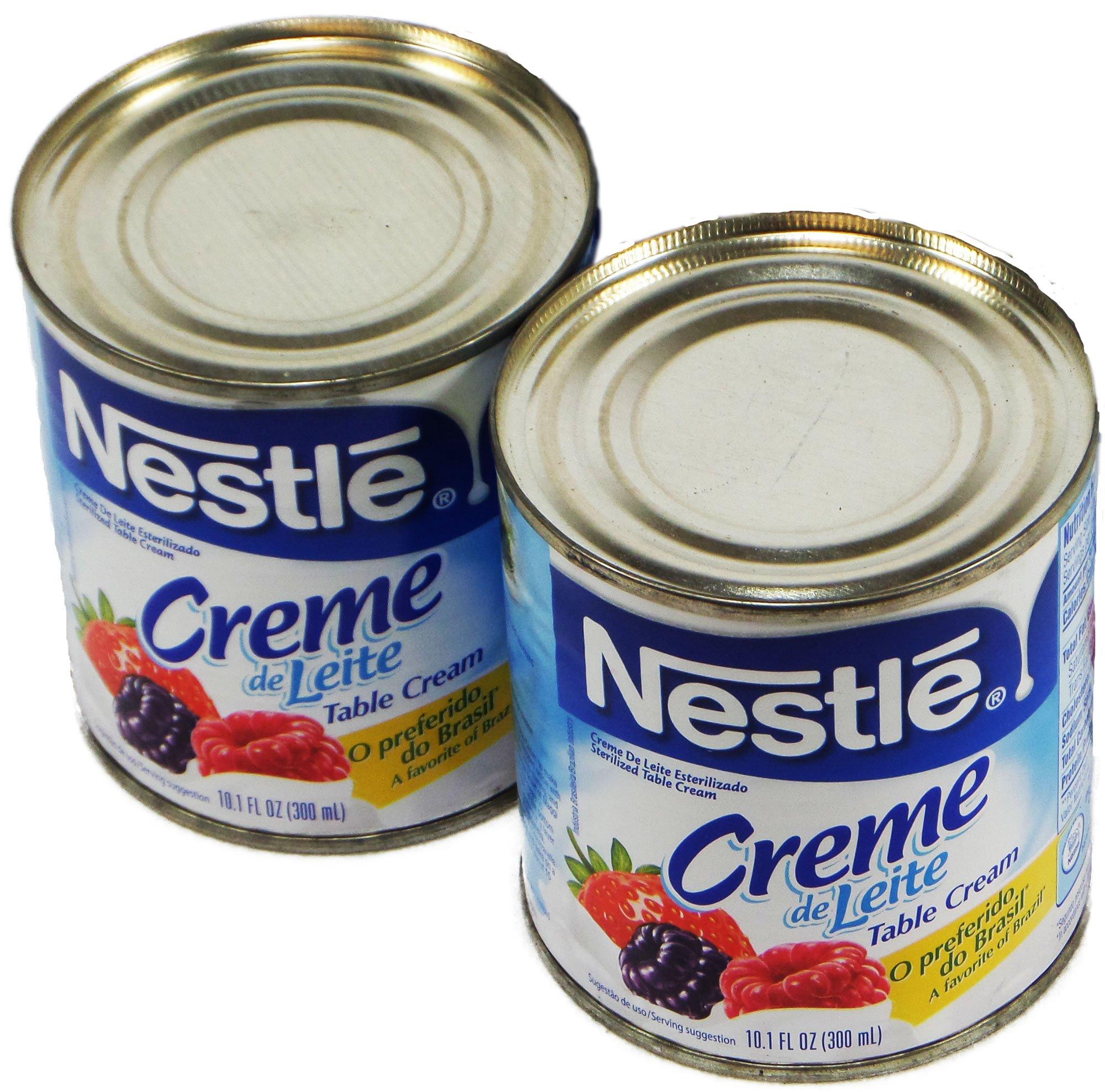 Nestlé - Table Cream - 10.1 fl. Oz. (PACK OF 02) | Creme de Leite - 300ml