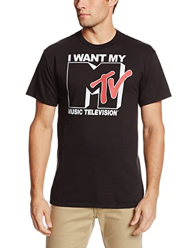 I Want My MTV 80s Mone for Nothing T-shirt for Men