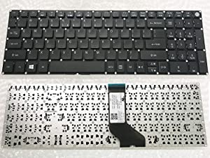 wangpeng New US Laptop Keyboard for Acer Aspire E5-575 E5-575G E5-575T E5-575T Series Laptop Keyboard Black