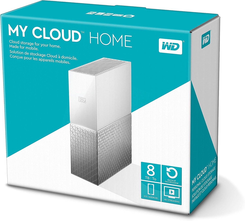 Sistema de almacenamiento Western Digital My Cloud Home de 8TB por 172,16€ ¡¡Ahorras 228€!!